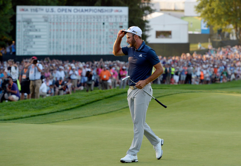 Golf Dustin Johnson