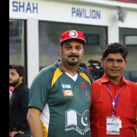 Ubaid with Amjad Sabri