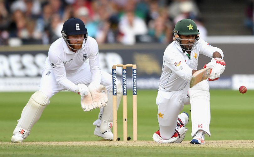 Sarfraz Ahmed Lords test