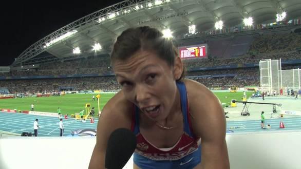 Russian Anastasia KAPACHINSKAYA