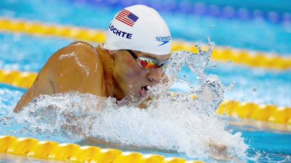 Swimmer Ryan Lochte