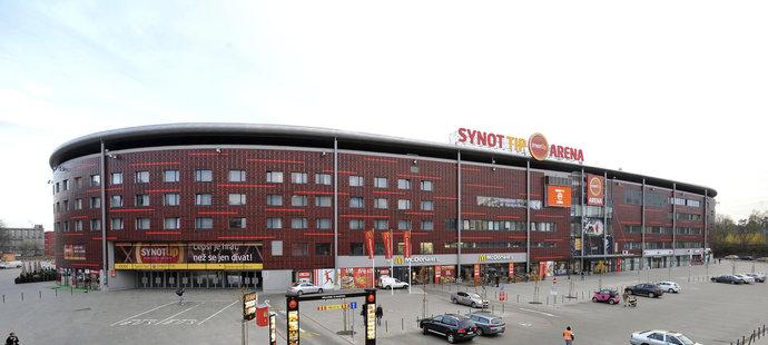 Eden Arena football stadium in Prague