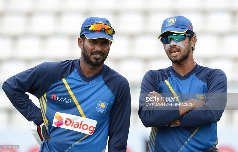 Danesh Chandimal and Upul Tharanga
