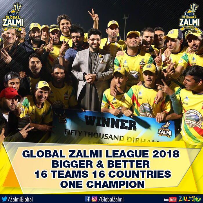 Global Zalmi league Javed Afridi