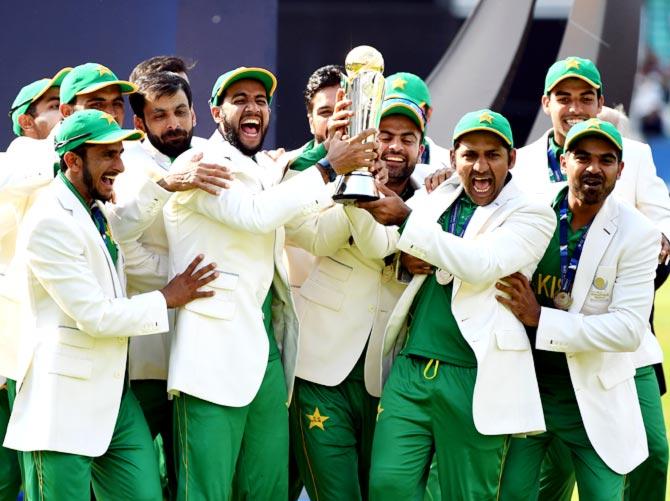 Pakistan won ICC Champions trophy