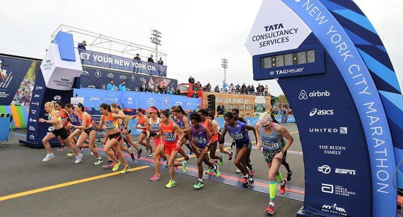 New Yark road runners race