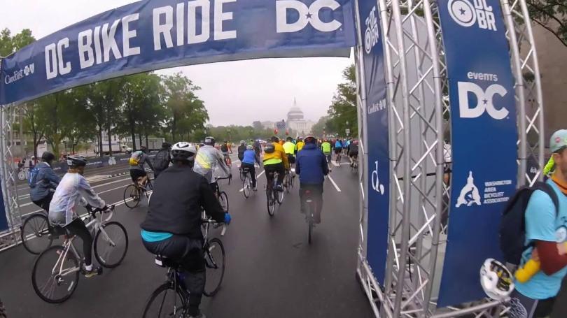 DC Bike ride at Washington DC