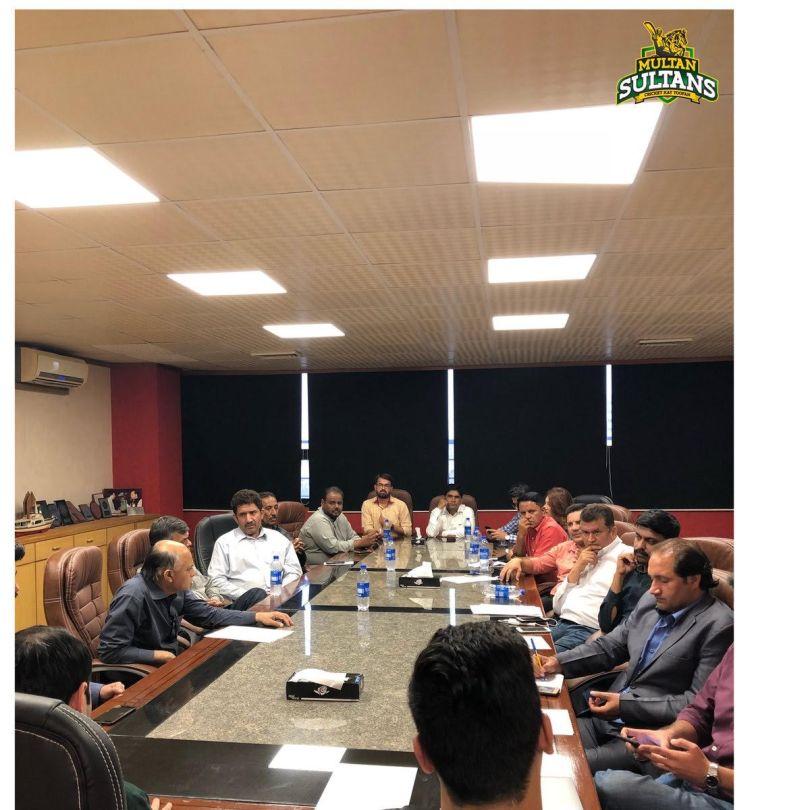 Multan Sultan meeting